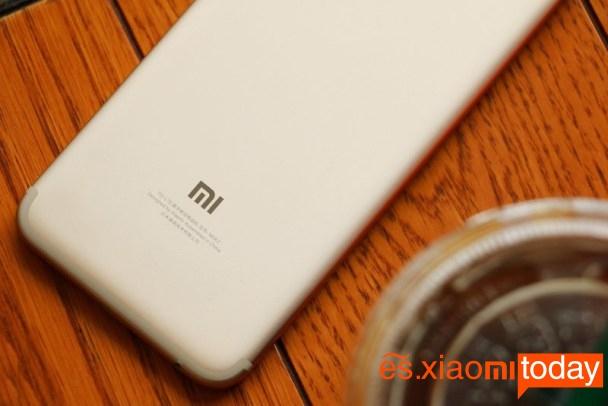 Xiaomi Mi 5X parte posterior