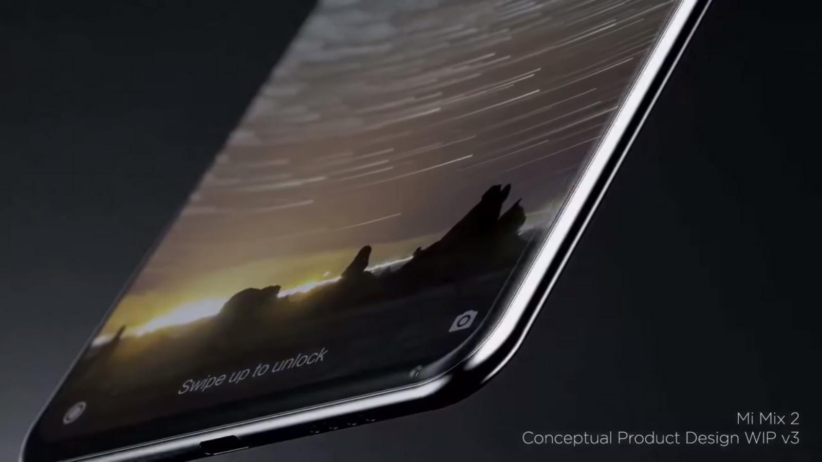 Xiaomi Mi MIX 2 diseño conceptual oficial por Philippe Starck