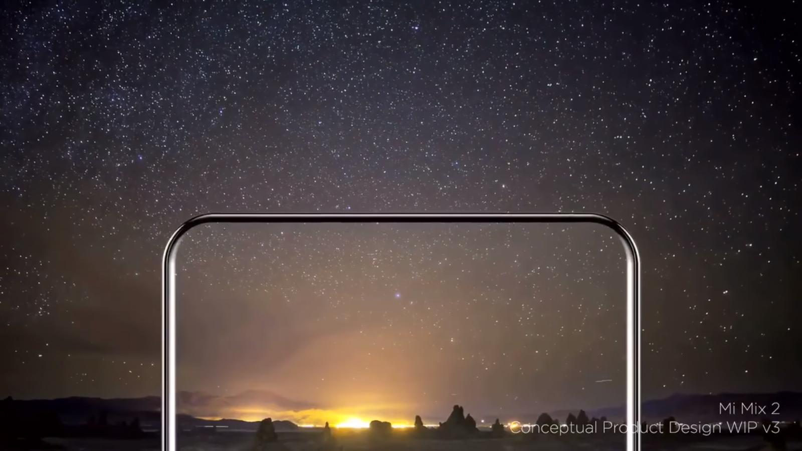 Xiaomi Mi MIX 2 diseño conceptual oficial