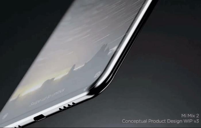 Xiaomi Mi Mix 2 marco