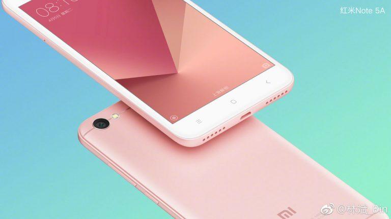 Xiaomi Redmi Note 5A Características ya conocidas