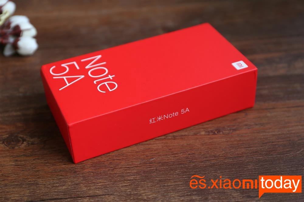 Xiaomi Redmi Note 5A (Caja 3)