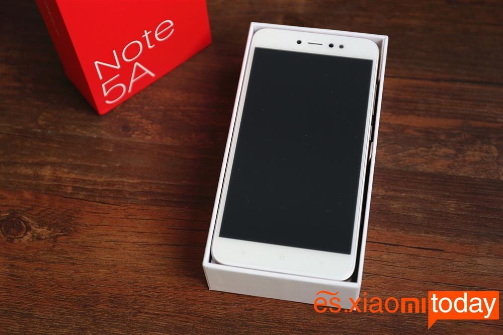 Xiaomi Redmi Note 5A (Caja 4)