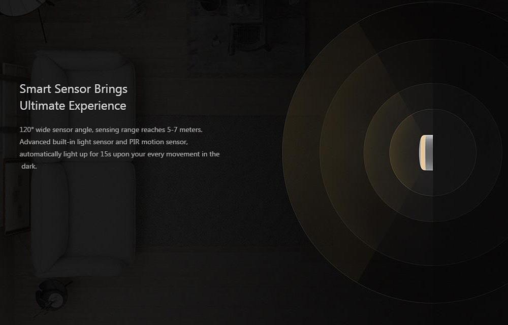 Xiaomi Yeeligth sensor de movimiento funcionamiento