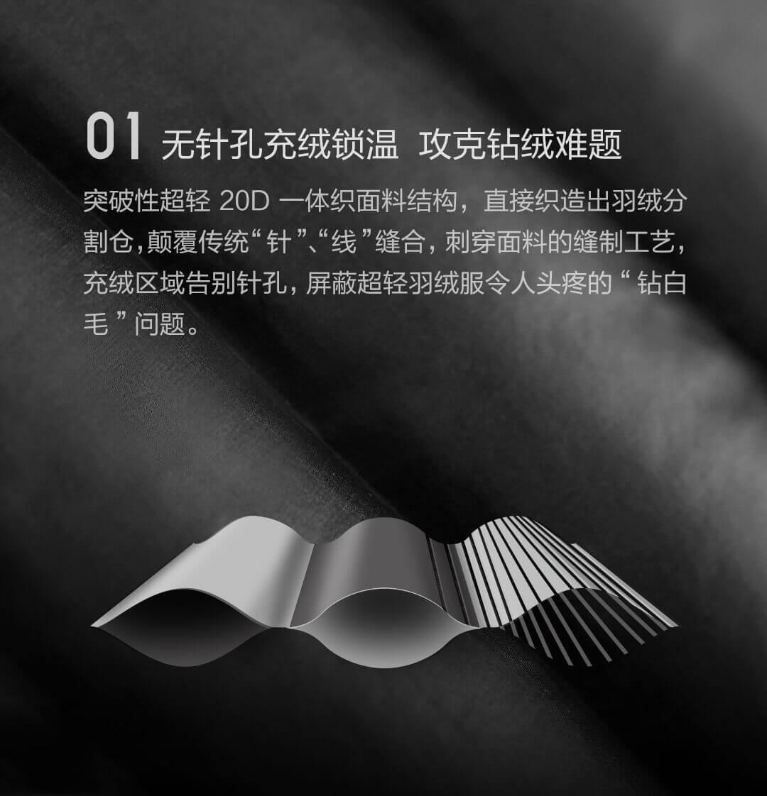 Xiaomi abrigo material