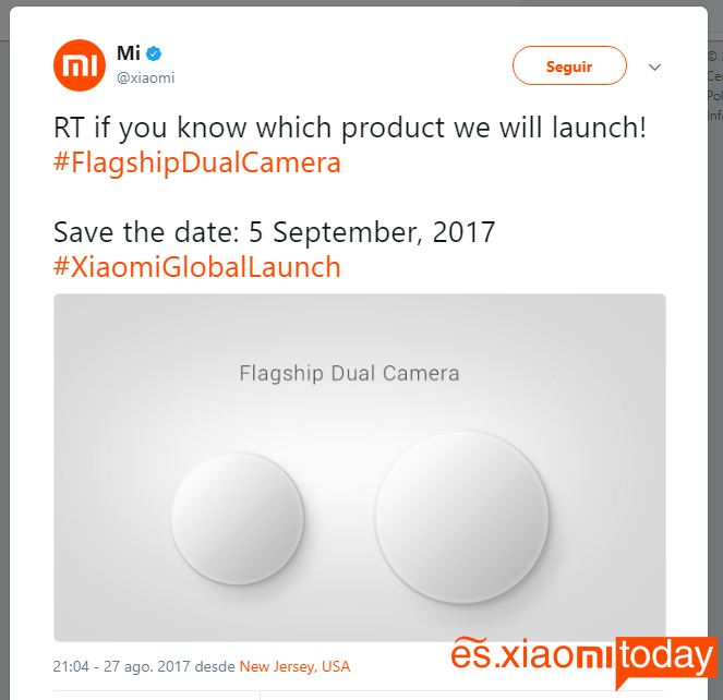 Xiaomi anuncio twitter 01