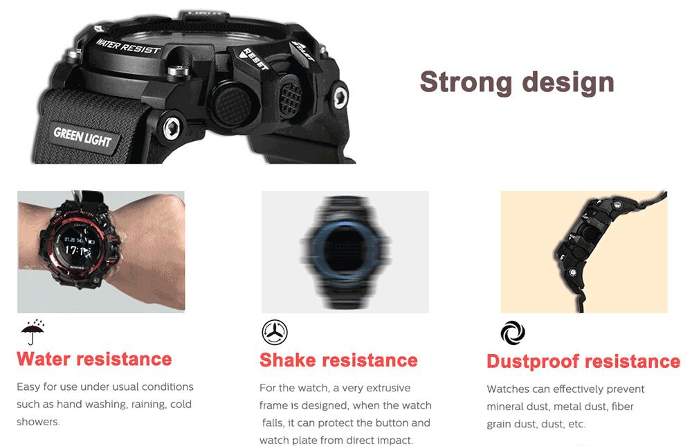 Zeblaze Muscle HR diseño