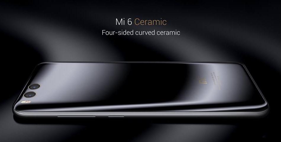 Xiaomi Mi 6: cerámica