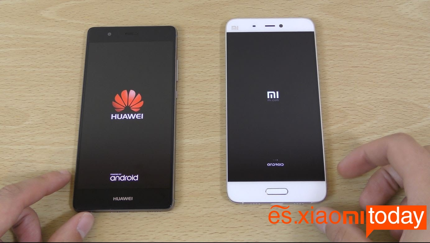Huawei y Xiaomi