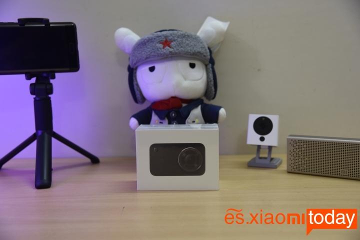 Cámara Xiaomi Mijia 4K Action análisis