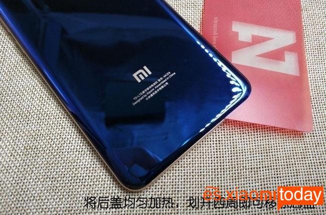 Xiaomi Mi Note 3 contraportada