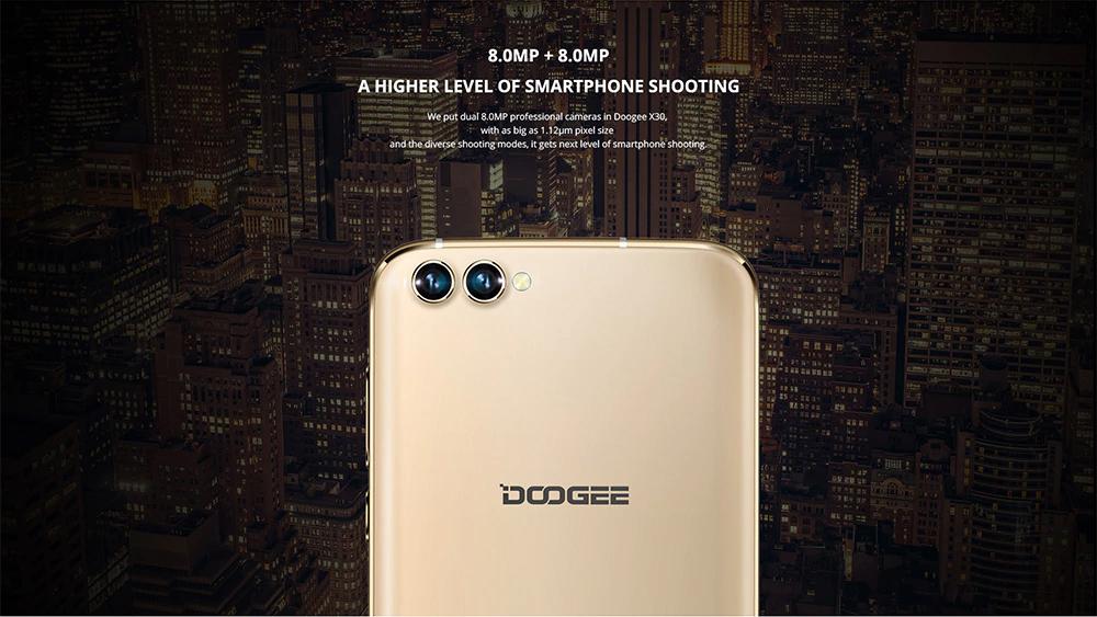 DOOGEE X30 cámara