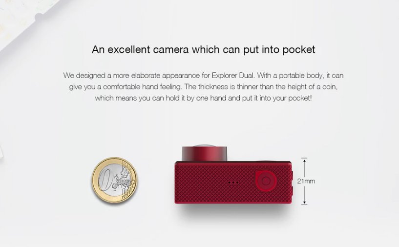 Elephone Rexso Explorer Diseño