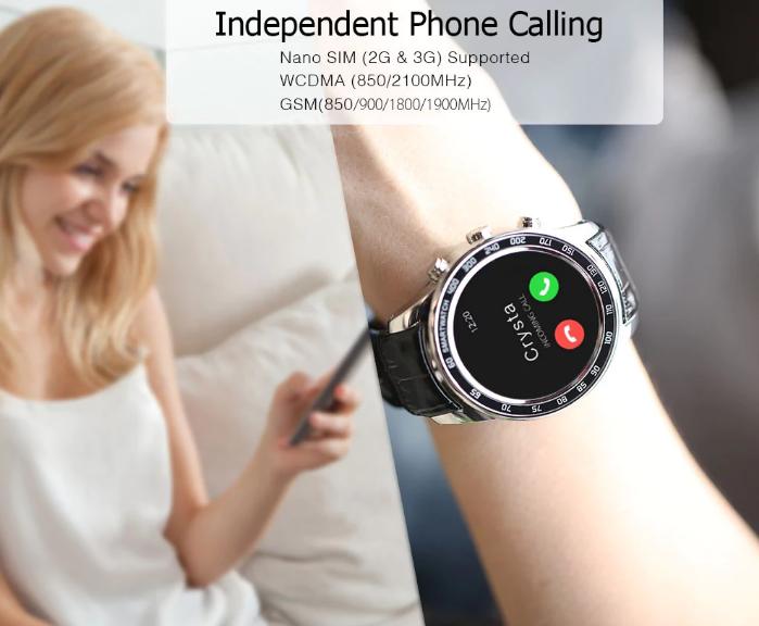 Finow Q7 Plus llamadas