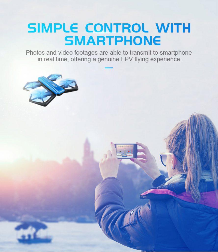 Geekbuying JJRC H43WH app