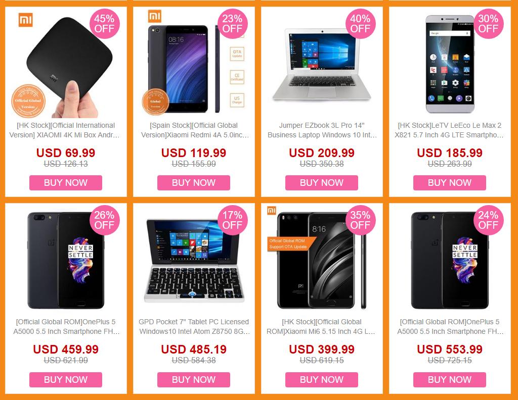 Geekbuying ofertas otoño en productos Xiaomi