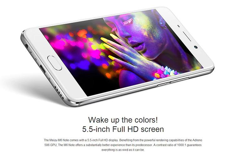 Meizu M6 Note pantalla