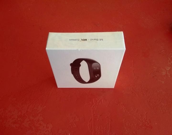 Mi Band HRX Edition caja parte superior