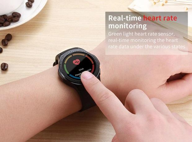Microwear L1 sensor de ritmo cardíaco