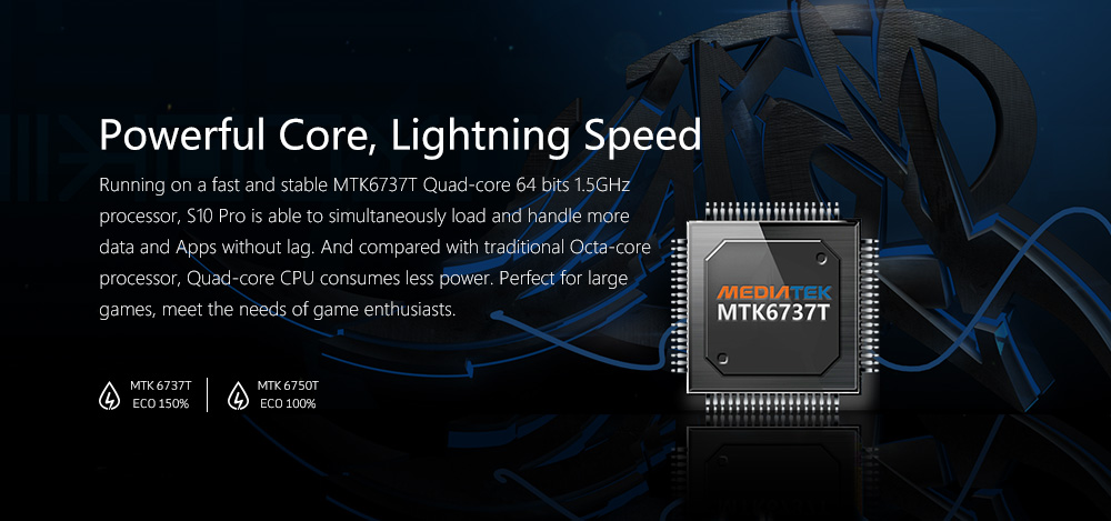 Nomu S10 Pro CPU