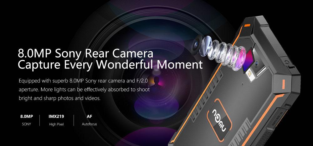 Nomu S10 Pro cámara principal