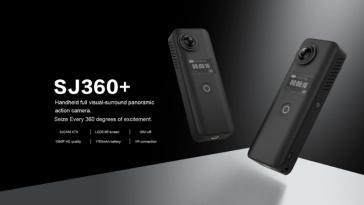 SJCAM SJ360 diseño