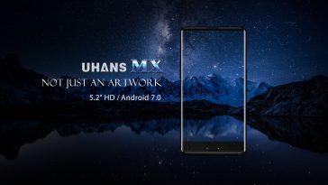 UHANS MX, el Smartphone sin biseles más económico del mundo