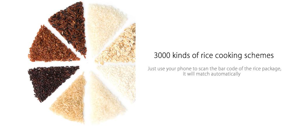 Xiaomi IH 3L formas de preparar arroz