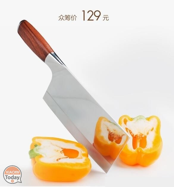 Xiaomi Kitchen Knife hoja de acero inoxidable