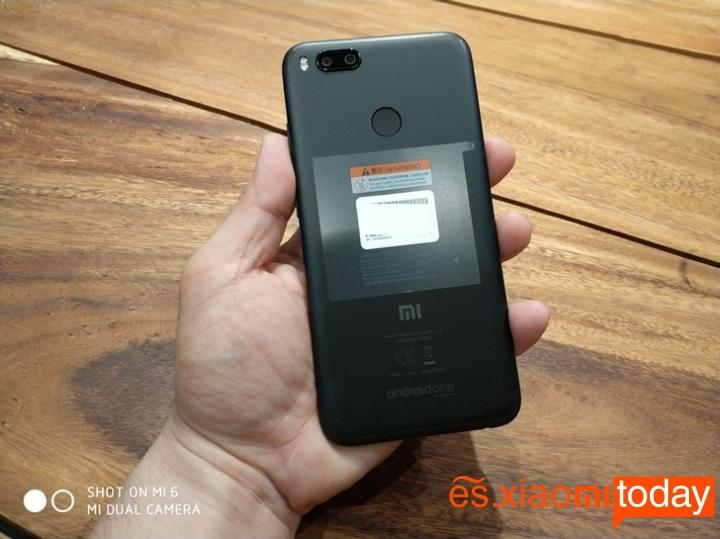Xiaomi MI A1 cámara