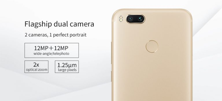 Geekbuying Xiaomi Mi A1 cámara
