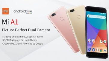 Xiaomi Mi A1 destacada