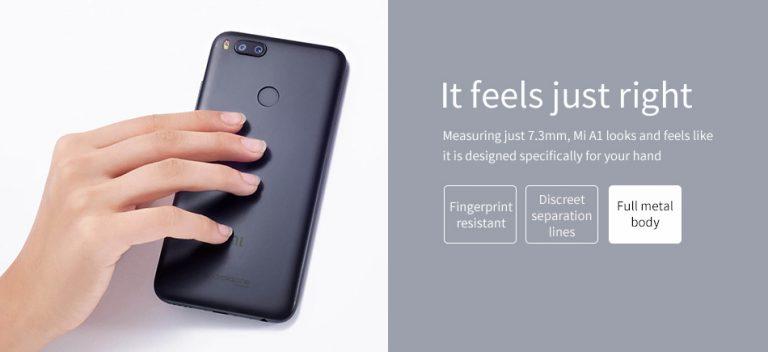 Geekbuying Xiaomi Mi A1 cuerpo