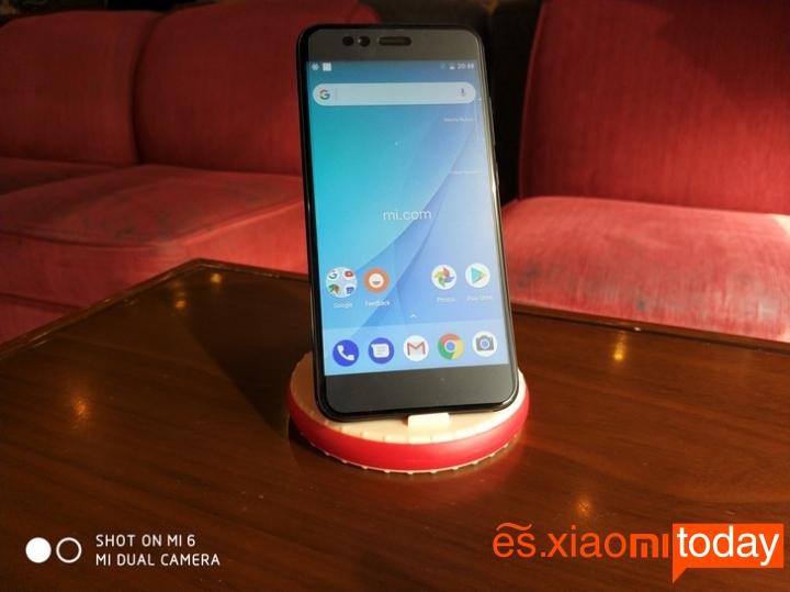 Xiaomi Mi A1 frontal