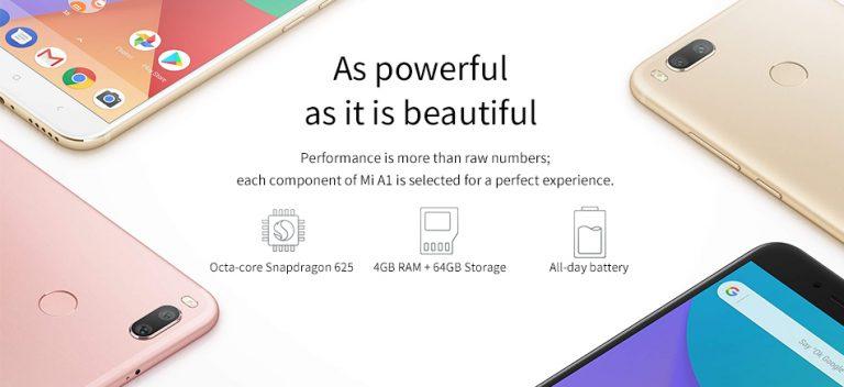 Geekbuying Xiaomi Mi A1 rendimiento