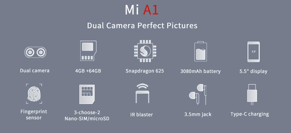 Xiaomi Mi A1 introducción