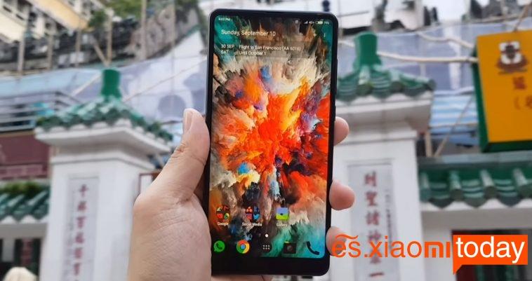 Especificaciones técnicas del Xiaomi Mi MIX 2