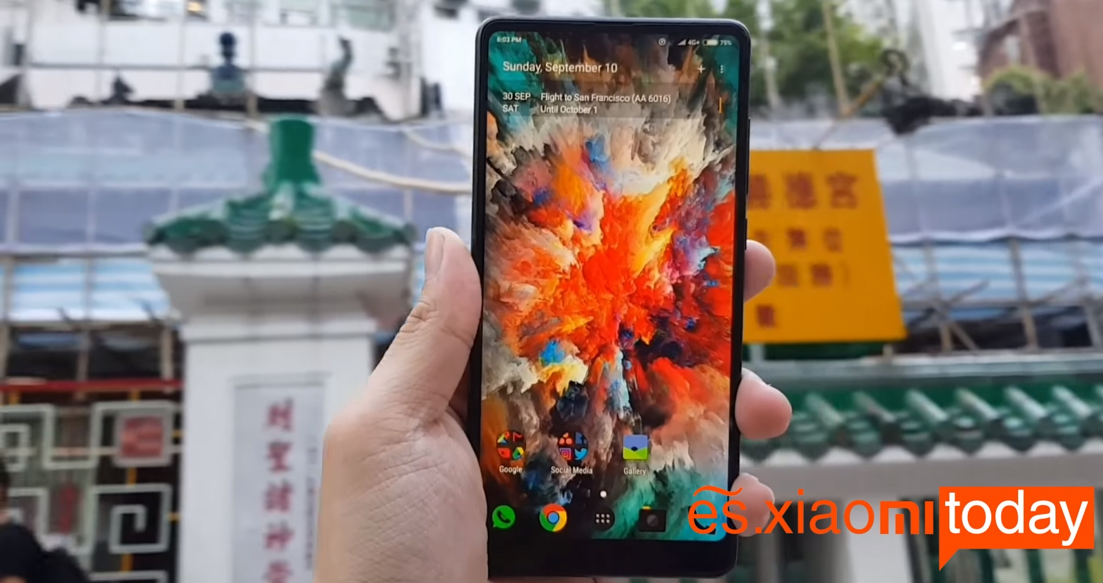 Xiaomi Mi MIX 2 Análisis en español - Imagen 1