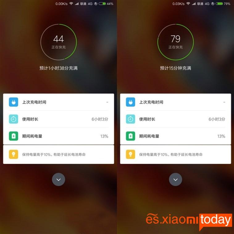 Xiaomi Mi MIX 2 Batería