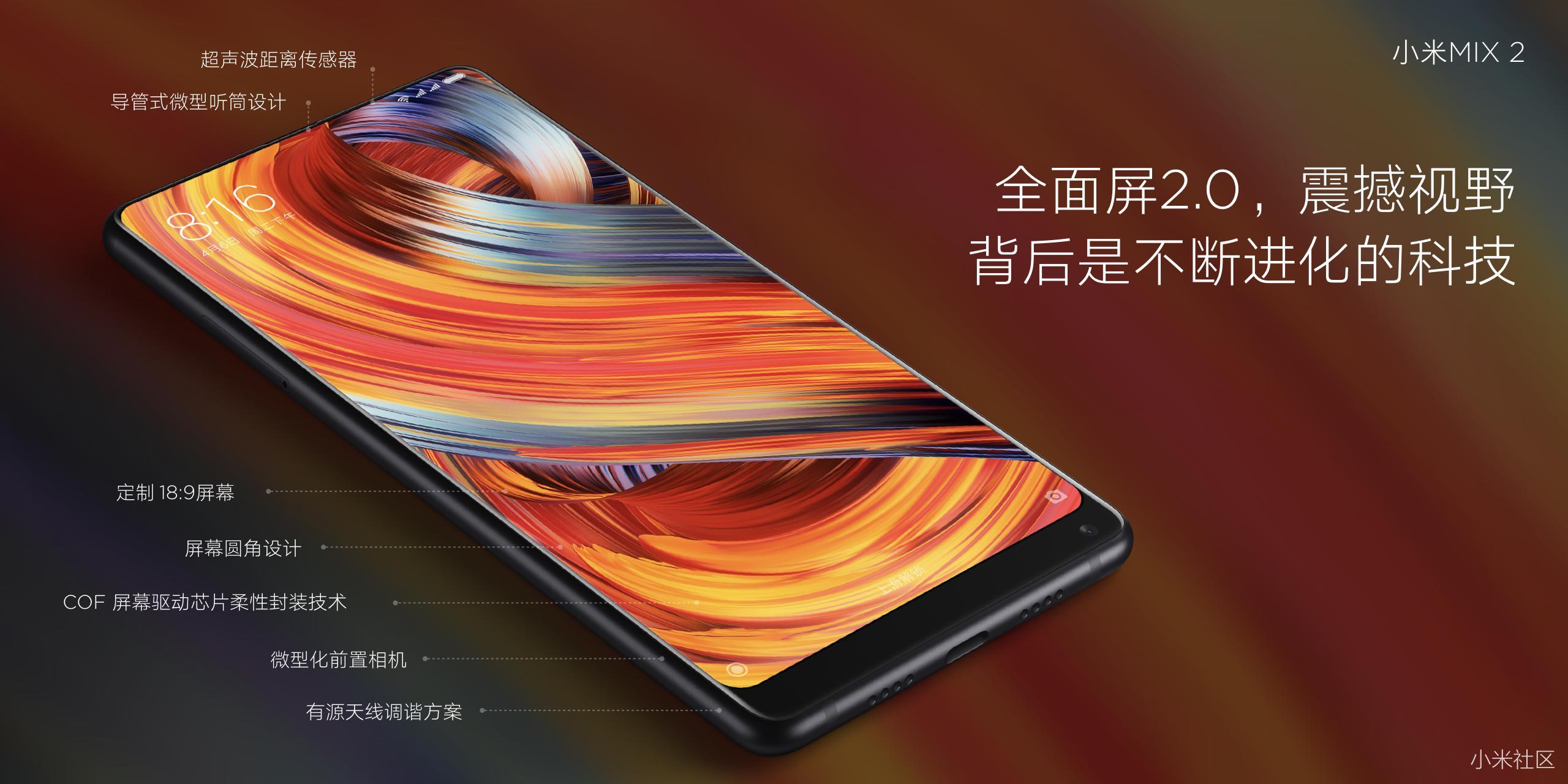 Xiaomi Mi MIX 2 características
