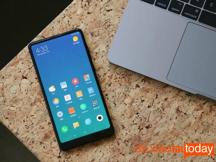 Xiaomi Mi MIX 2 frontal