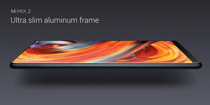 Xiaomi Mi MIX 2 marco de aluminio