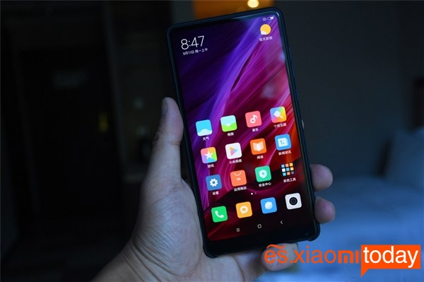 Xiaomi Mi MIX 2 negro versión cerámica 07