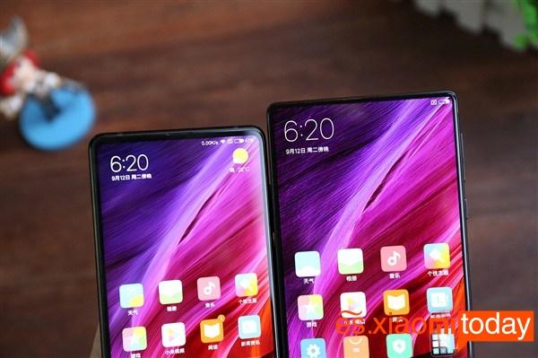 Xiaomi Mi MIX 2 pantalla