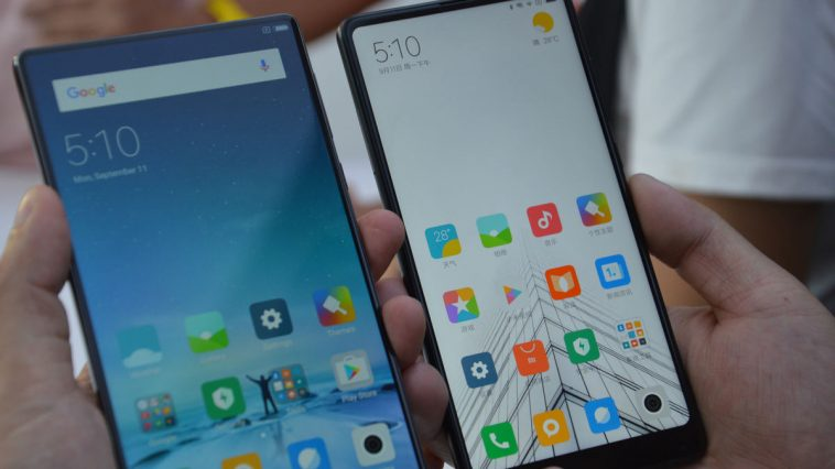 Xiaomi Mi MIX 2 vs Mi MIX destacada