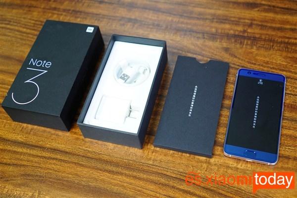 Xiaomi Mi Note 3 Primera impresión 3