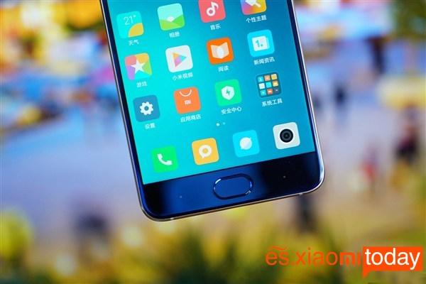 Xiaomi Mi Note 3 Frontal inferior