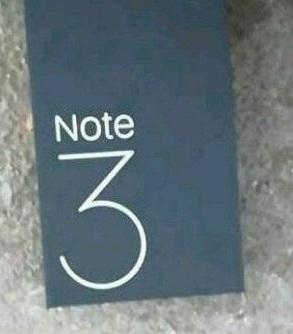 Xiaomi Mi Note 3 caja