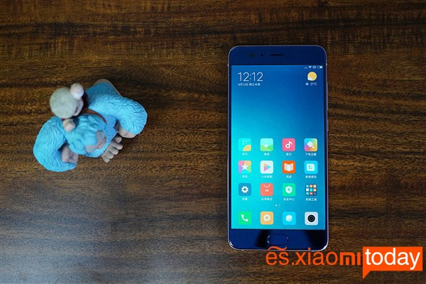 Xiaomi Mi Note 3 diseño