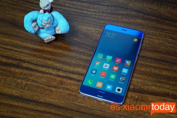 Xiaomi Mi Note 3 pantalla